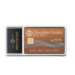 TARJETA DE CREDITO CHOCOLATE